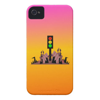 Moody Stoplight with Bunnies, Dreamy Background Case-Mate iPhone 4 Cases