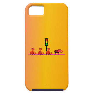 Moody Stoplight with Heart Caravan, Dreamy Backgnd Case For The iPhone 5