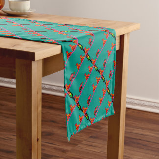 Moody Stoplight with Heart Caravan Short Table Runner