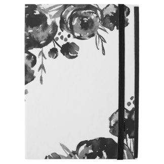 Moody Watercolor Floral iPad Pro Case