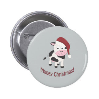 Mooey Christmas! 2 Inch Round Button