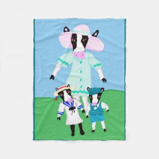 Moohug Design Fleece Blanket