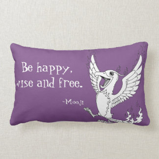 Mooji Quote Pillows