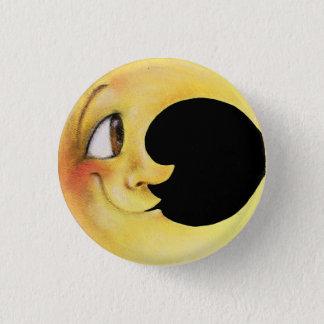 Moon 1 Inch Round Button
