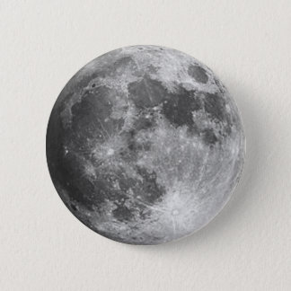 Moon 2 Inch Round Button