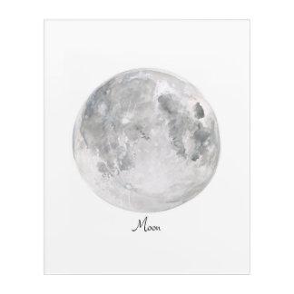 Moon Acrylic Wall Art