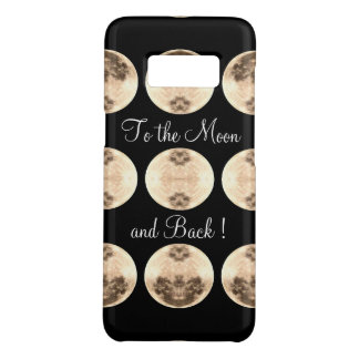 Moon and Back ~Galaxy S8, Barely There Case