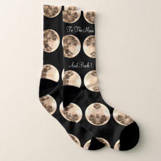 Moon and Back Lrg Socks 1