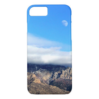 Moon and Clouds Over Sandias iPhone 8/7 Case