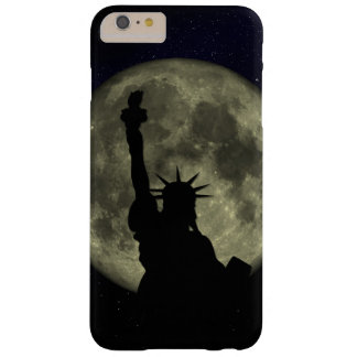 Moon and Lady Liberty Barely There iPhone 6 Plus Case