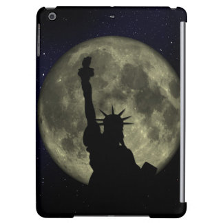 Moon and Lady Liberty iPad Air Cases