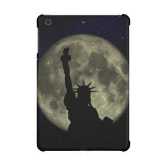 Moon and Lady Liberty iPad Mini Retina Case