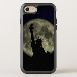 Moon and Lady Liberty OtterBox Symmetry iPhone 8/7 Case