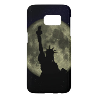 Moon and Lady Liberty Samsung Galaxy S7 Case