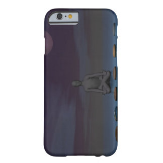 moon and man and steps barely there iPhone 6 case