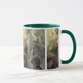Moon and North Star Mug