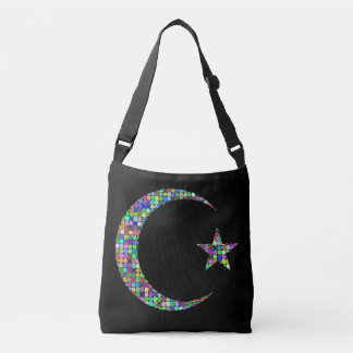 moon and star cross body bag