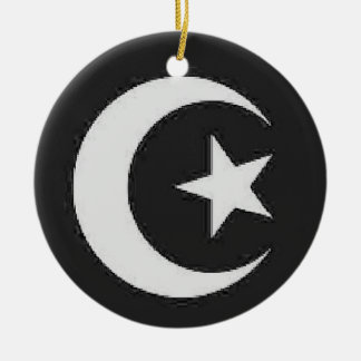 Moon and Star ornament