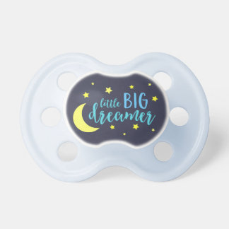 Moon and Stars Blue Little Big Dreamer Pacifier