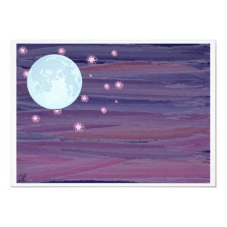 Moon and Stars Card