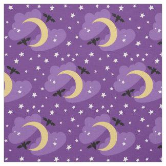 Moon and Stars | Halloween Fabric