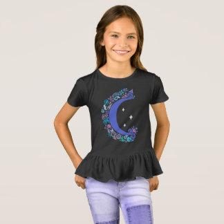 Moon and Stars Ruffle Shirt