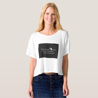 """ Moon and stars"" T-shirt for women"