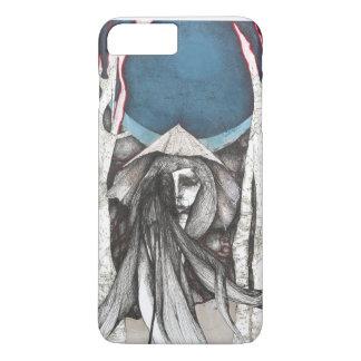 Moon and Umbrella iPhone 7 Plus Case