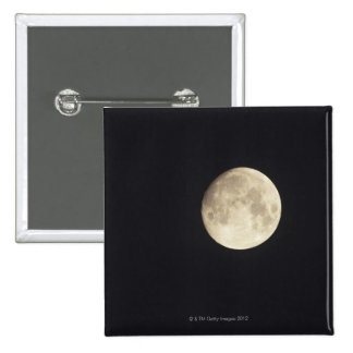 Moon at night 2 inch square button