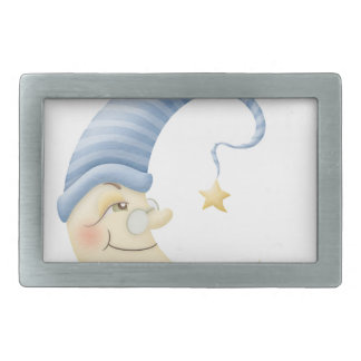 Moon Baby Rectangular Belt Buckles