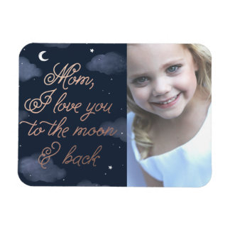 Moon & Back Mother's Day Magnet