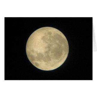 Moon Birthday Card