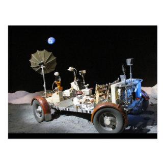 Moon Buggy Postcard