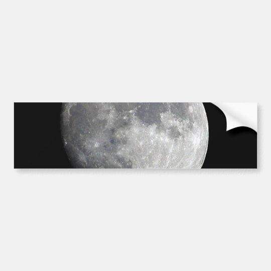 Moon Bumper Sticker
