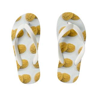 Moon Cake Crushers Shoes Chinese Cake Kid's Flip Flops