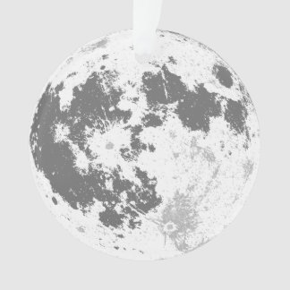 Moon Christmas Ornament