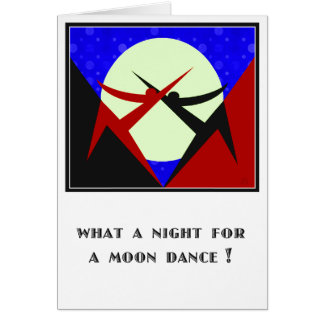 Moon Dance - Personalized Card