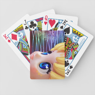Moon Doll Bicycle Playing Cards