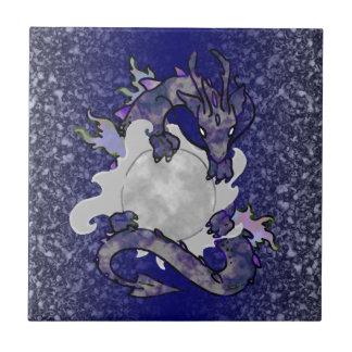 Moon Dragon Tile