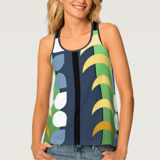 MOON DROPS TANK, i Art and Designs Tank Top