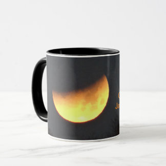 Moon Eclipse Black 11 oz Combo Mug