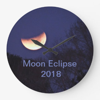 Moon Eclipse Clock