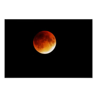 Moon Eclipse Poster