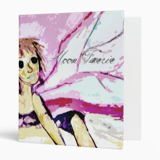 Moon Faerie Vinyl Binders