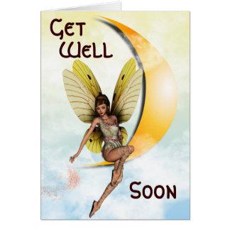 Moon Fairy Card