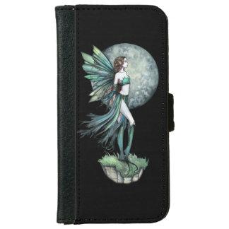 Moon Fairy Fantasy Art Illustration iPhone 6 Wallet Case