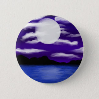 Moon Filled Night by Chrystal Suicide 2 Inch Round Button
