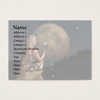 Moon Flower 2 Business Card