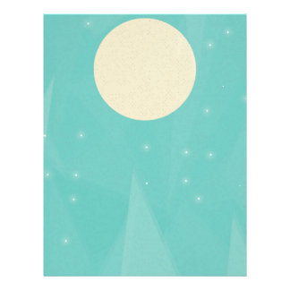 Moon Flower Letterhead