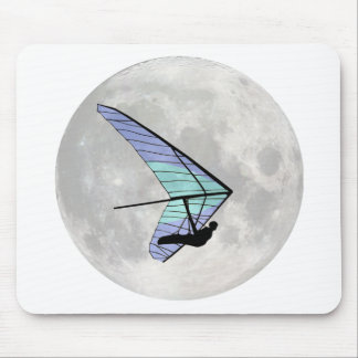 Moon Flyer Mouse Pad